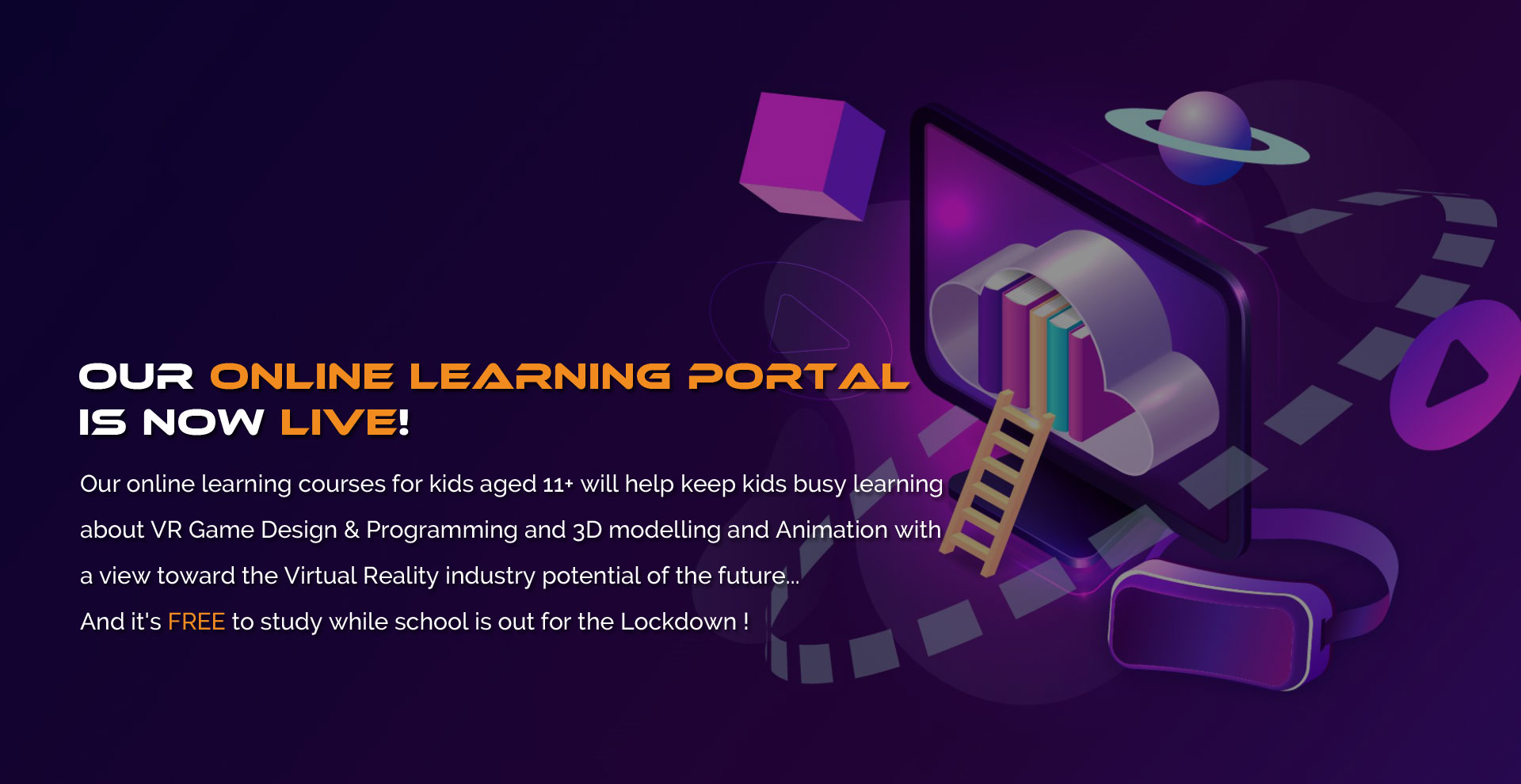 Our online learning portal is now live!