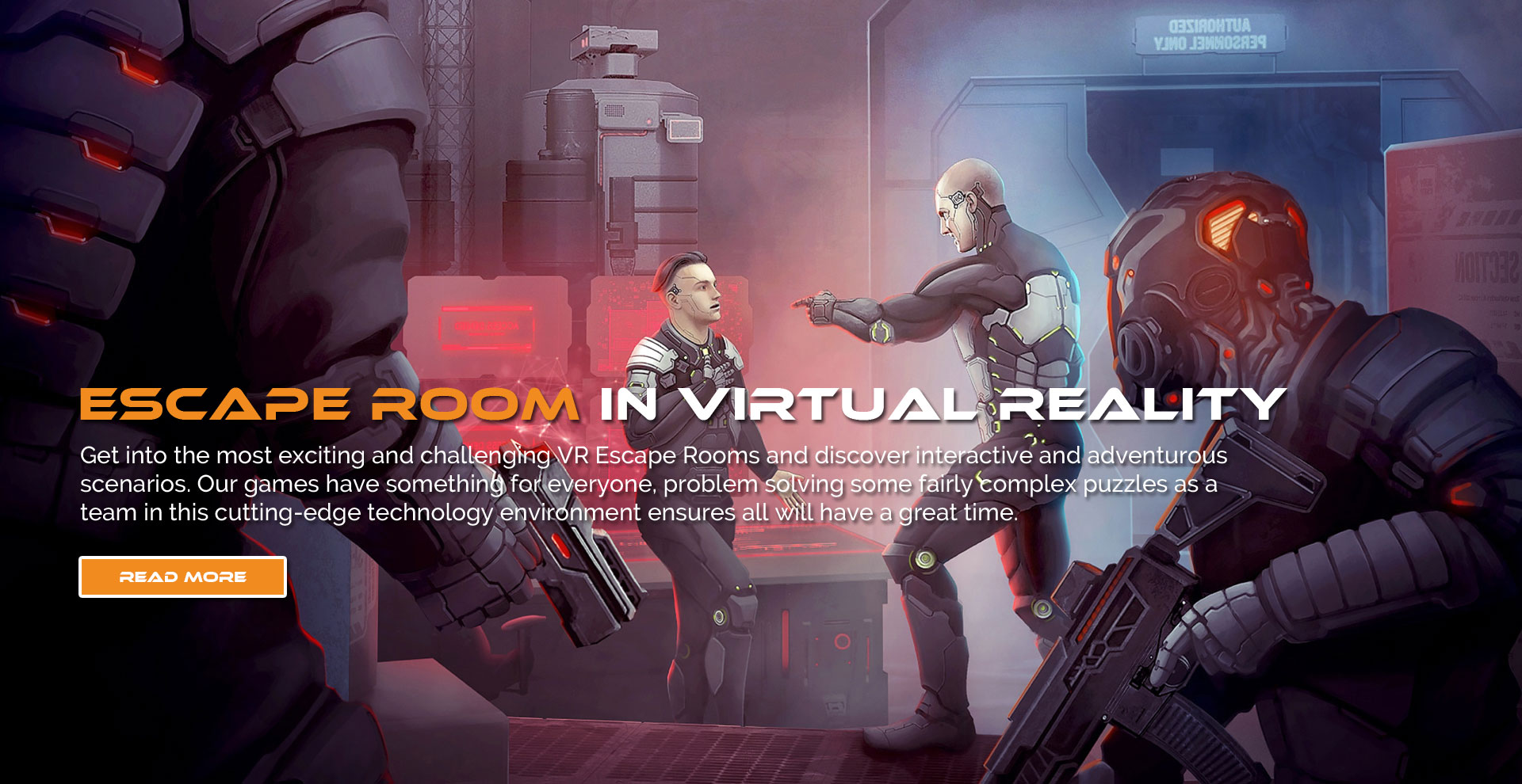 ESCAPE ROOM IN VIRTUAL REALITY